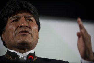 El presidente boliviano, Evo Morales anunció que presentaría una demanda...