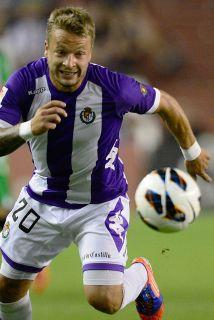 Eberthizo el gol del Valladolid.