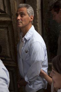 Rahm Emanuel,alcaldedeChicago, la tercera ciudad más poblada de EU, c...