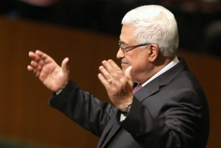 Mahmoud Abbas, presidente de la Autoridad Nacional de Palestina.