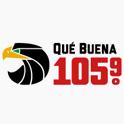 Logo phoenix arizona Qué Buena 105.9