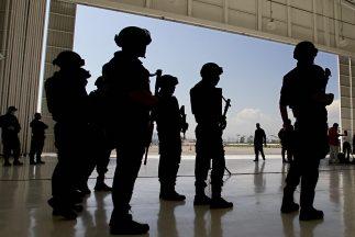 Ejército mexicano en la lucha contra el crimen organizado.