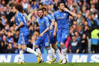 Lampard y Oscar marcaron las anotaciones de los 'Blues'.