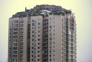 Montaña edificio