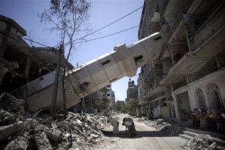 En las negociaciones entre israelíes y palestinos, EEUU avala un puerto...