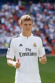 El centrocampista ofensivo alemán Toni Kroos jugará las seis próximas te...