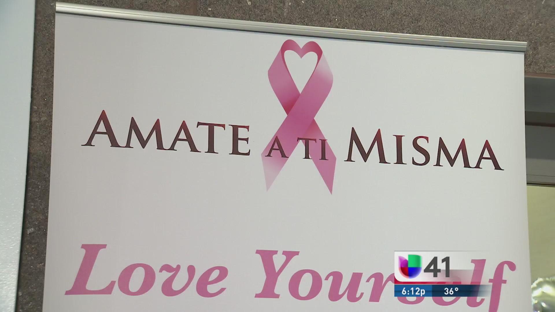 Ámate a ti misma y evita el cáncer de mama