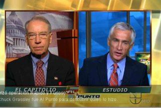 Senator Chuck Grassley talked to Jorge Ramos.