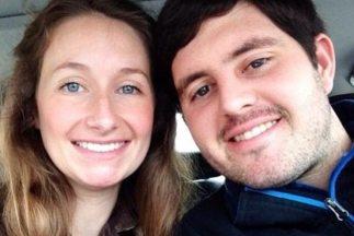 Brittany Huber y John Redman. (Foto tomada de su Facebook)