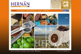 Empecé HERNÁN en 2007 ofreciendo productos para la cocina que fusionan l...