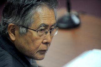 Alberto Fujimori, ex presidente de Perú.