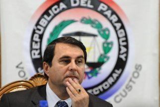 """""""Felicito a todos los paraguayos"""", dijo el presidente Federico Franco en..."""
