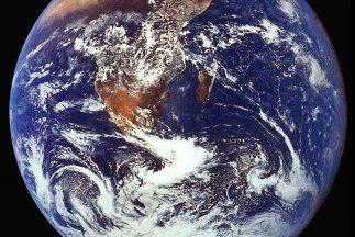 El Planeta Azul, la Tierra.