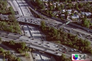 Tome precauciones por cierre de la autopista 405