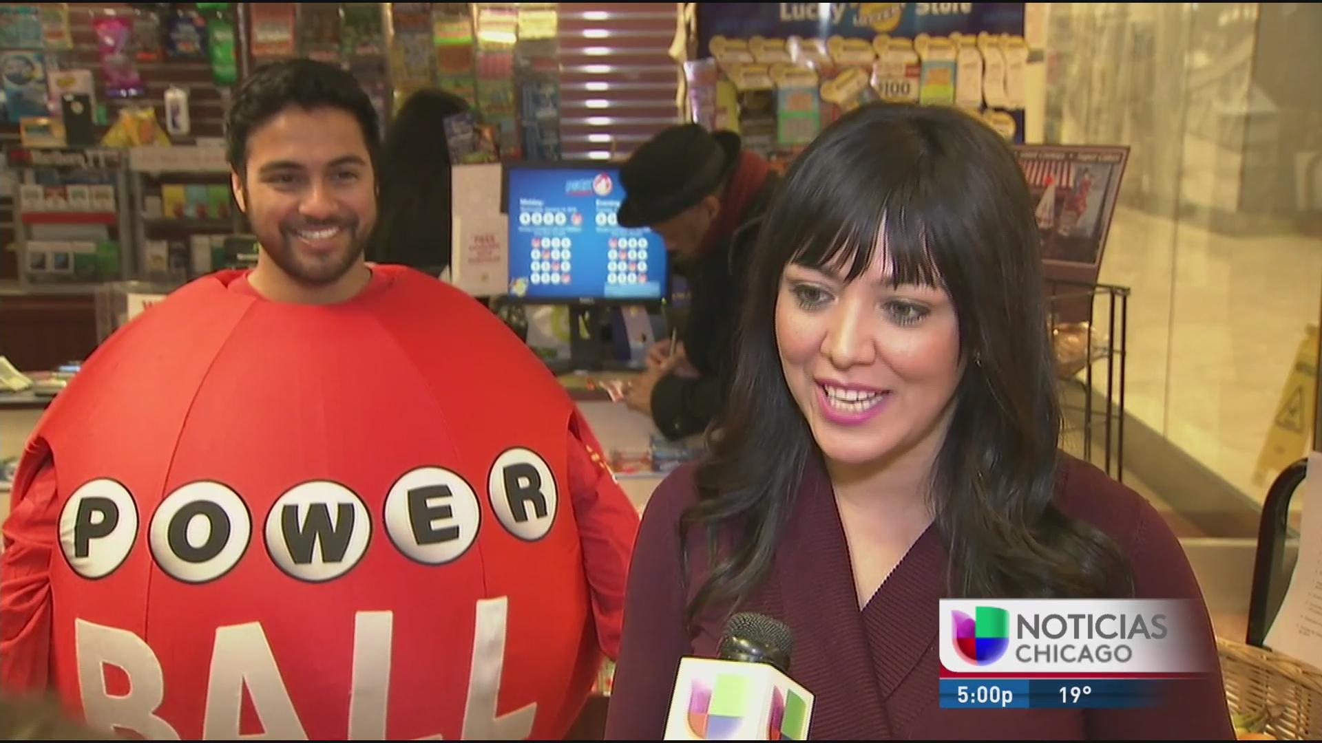 Premio mayor de la lotería genera gran emoción en Chicago