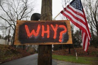 La matanza de Newtown, donde fueron asesinados 20 niños de una escuela p...