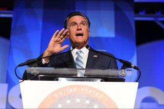 El candidato presidencial republicano Mitt Romney.