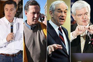 Hasta ahora Mitt Romney ha conseguido 100 delegados para la convención d...