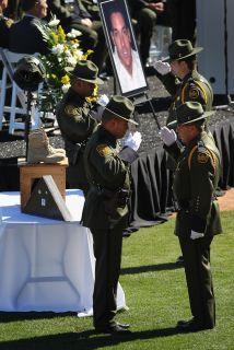 Funerales del agente fronterizo,Brian Terry.