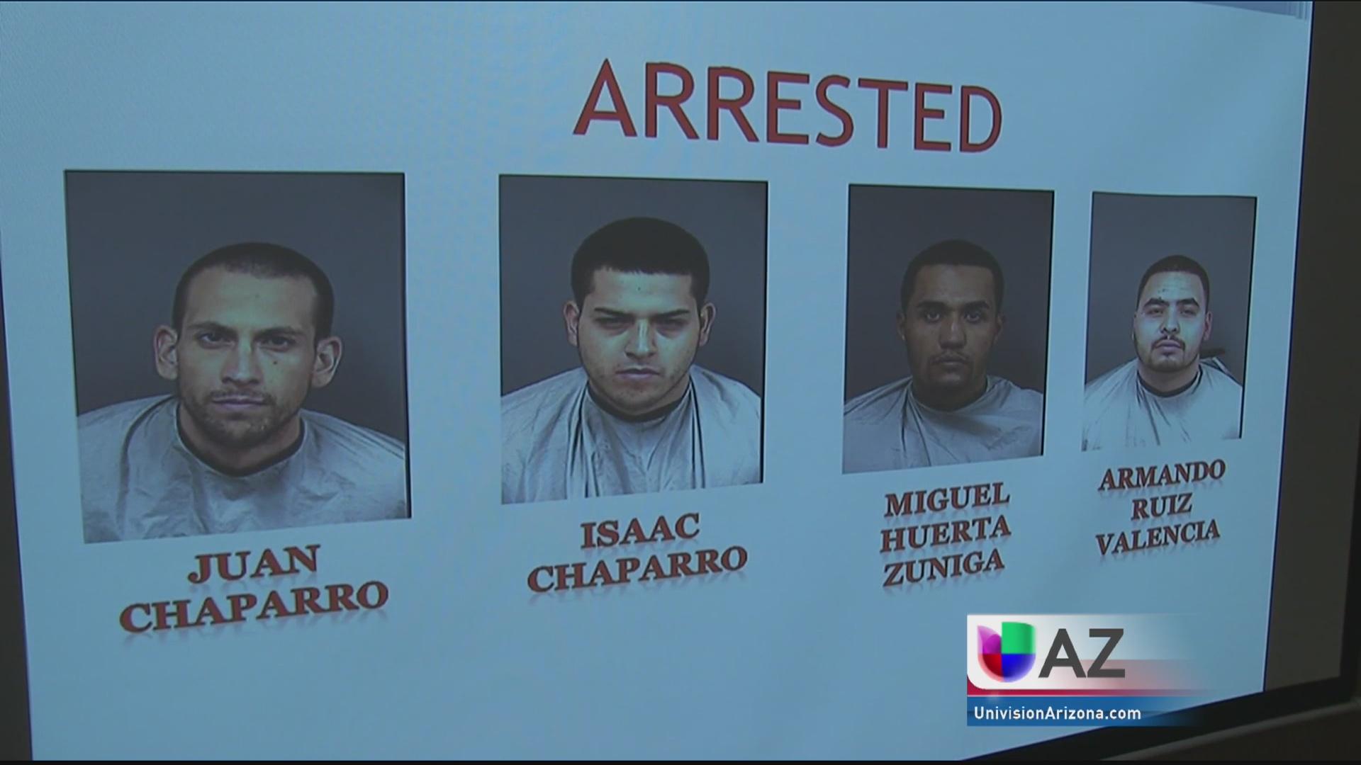 Desarticulan banda de delincuentes fuertemente armados