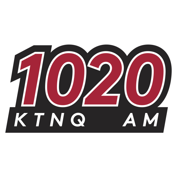 KTNQ 1020 AM Los Angeles logo social follow