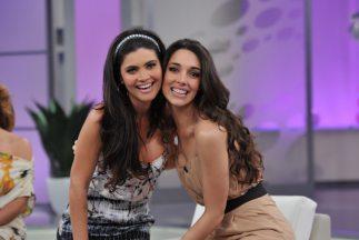 Amelia Vega y Chiquinquirá compartieron tips de belleza.
