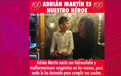 Este niño con discapacidad de 11 años está nominado en los Latin Grammy