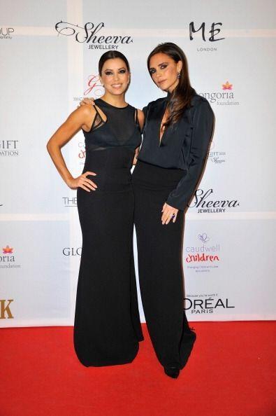 Eva Longoria y Victoria Beckham son amigas desde hace tiempo, por ello E...