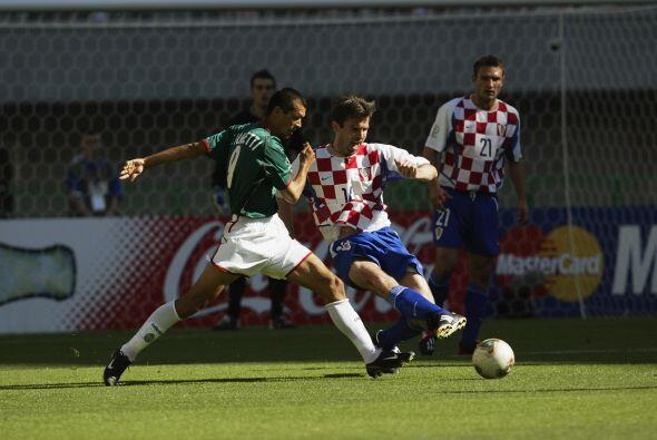En Corea-Japón 2002, México se colocó en el Grupo G...
