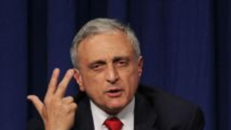 Carl Paladino busca ser el gobernador de Nueva York.
