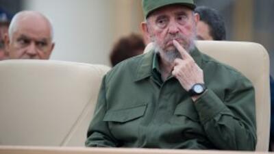 El líder cubano, Fidel Catro criticó el discurso del presidente de EU, B...