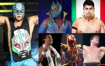 Repasemos algunos de los luchadores que han destacado dentro de la WWE e...