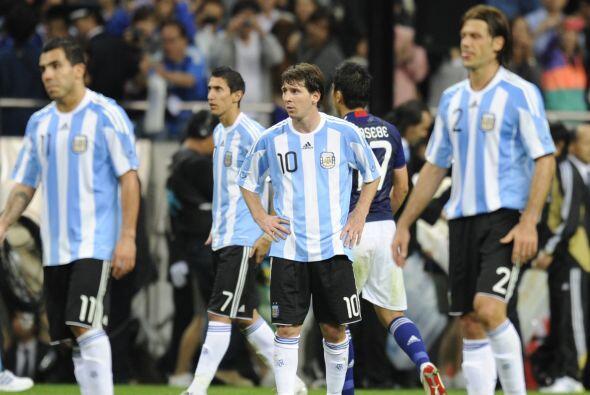 Messi, Tévez, Demichelis y Di María siguen sin poder demos...