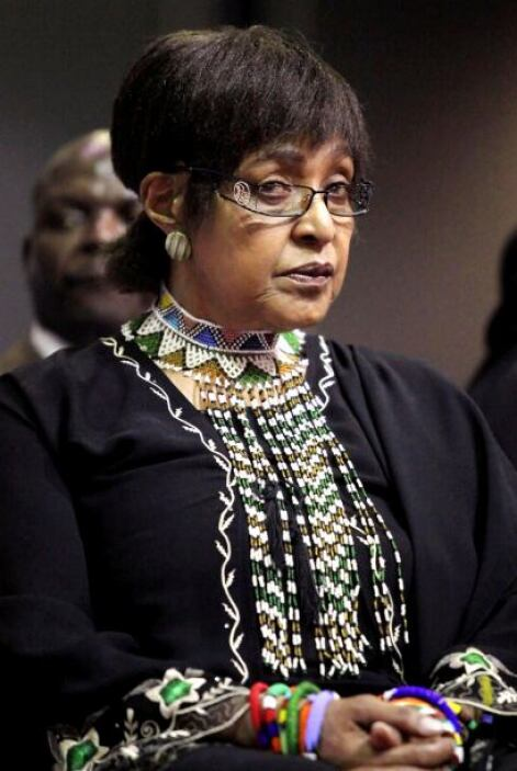 Winnie Mandela ha organizado conciertos y diversos actos culturales a fa...