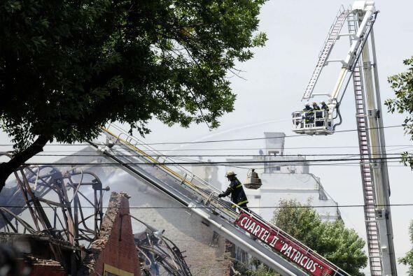 Será la Justicia la que determinará cuál fue la causa del incendio.