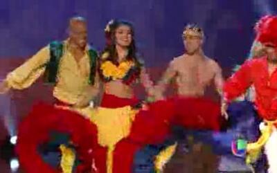 Barbara bailando cumbia - test do not publish