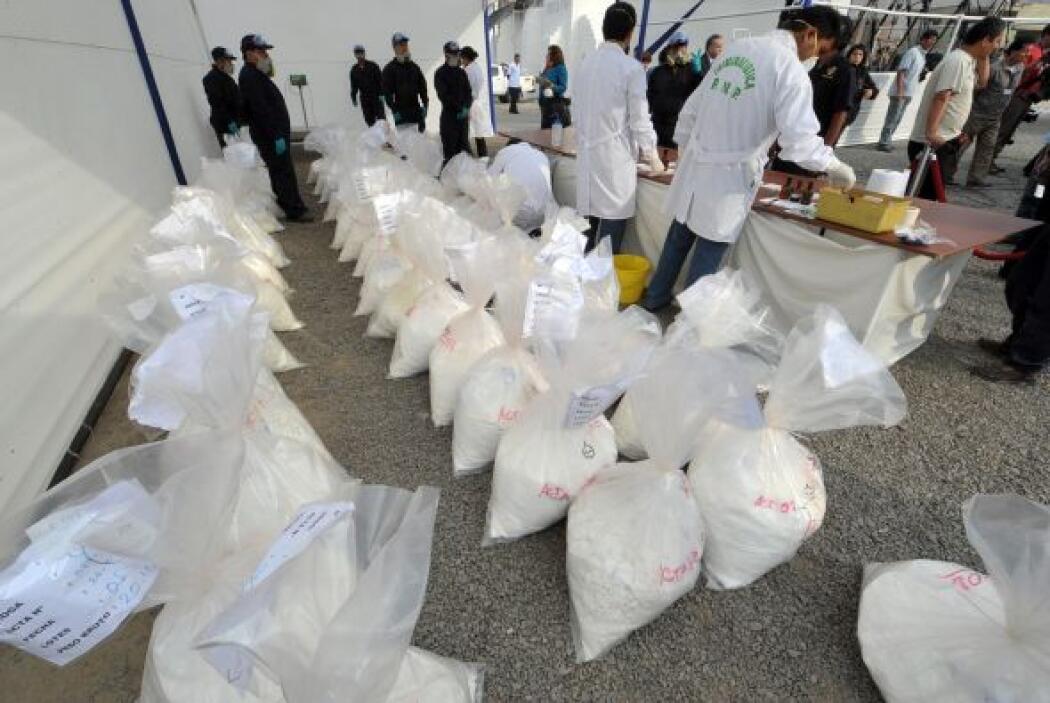 Un 95 por ciento de la cocaína que llega a Estados Unidos, proviene de M...