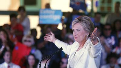 Hillary Clinton en Texas