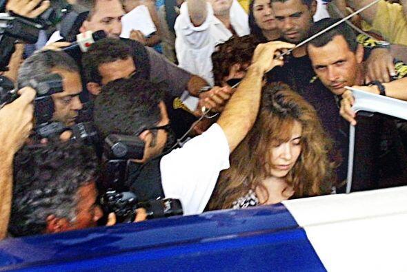 """En abril de 1998, Aline Hernández, su ex-corista  publicó el libro """"La G..."""