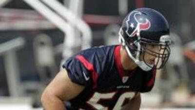 Brian Cushing mantiene en suspenso a los Houston Texans ante la delicada...