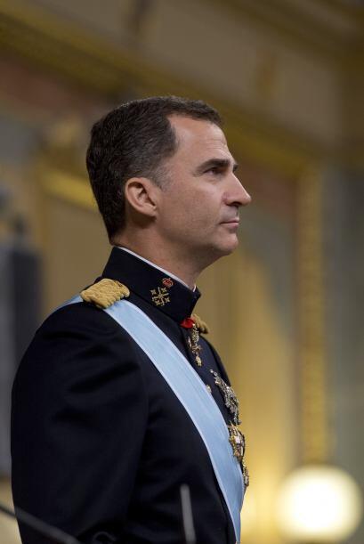 """Felipe VI también agradeció a su madre """"toda una vida de trabajo impecab..."""