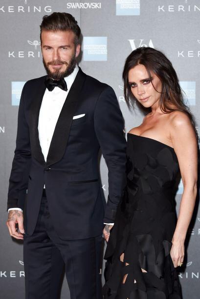 Victoria y David Beckham sin duda son de las parejas más bellas.