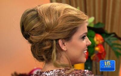 Peinados especiales para lucir elegante cuando va a una fiesta