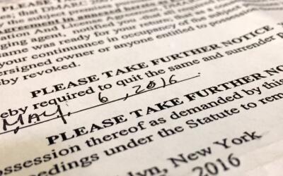 Inquilinos en la mira, parte III: Sólo un juez puede ordenar un desalojo