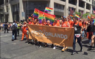 Con Orlando en el corazón dio inicio el Desfile de orgullo gay en NYC.