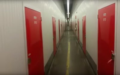 Guy Lives Out Of Storage Locker For Two Months