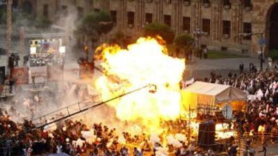 Al menos 144 personas fueron trasladadas a hospitales cercanos con quema...