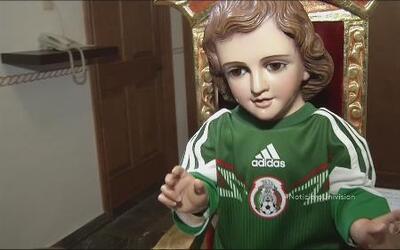 México busca una ayuda divina para vencer a Croacia