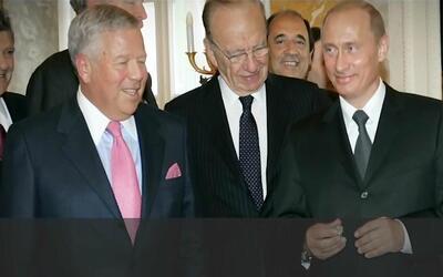 Vladimir Putin le robó uno de los anillos del Super Bowl al dueño de los...