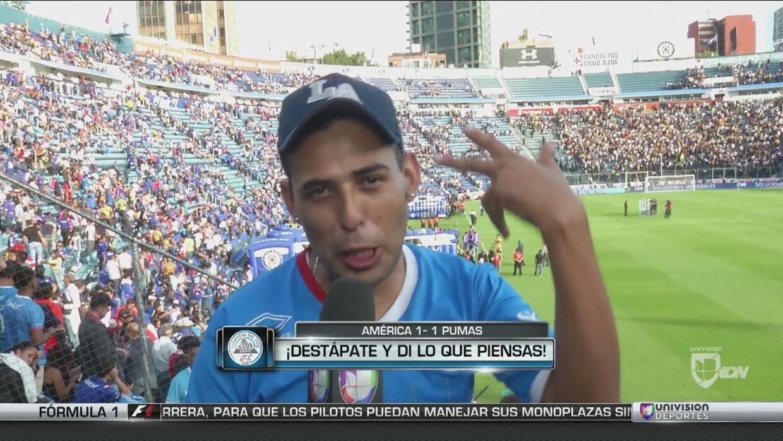 Destápate: Los aficionados del Cruz Azul y Pumas reaccionaron al final d...